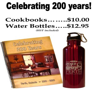 Perth 200th bottles and books
