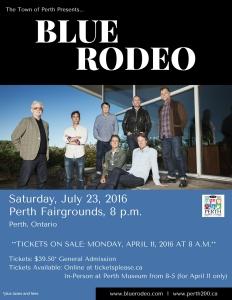 Blue Rodeo Perth