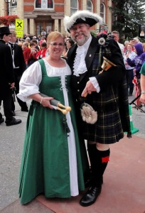 Perth Town Crier Brent McLaren and his wife, Shelley, will host the criers coming to Perth from May 21-22.