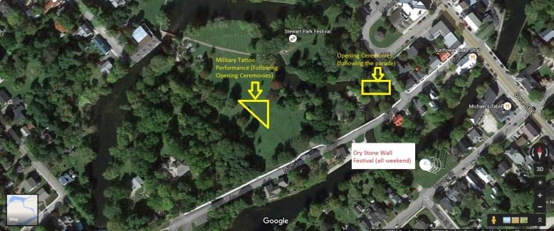 Stewart Park Map